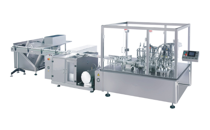 SED-GFX Oral Liquid Filling Stoppering And Capping Machine