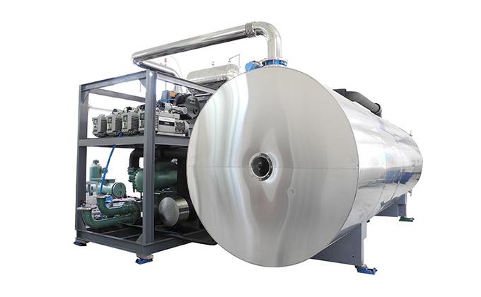SED-SDG Series Vacuum Pharmaceutical Freeze Drying Machine Large Scale