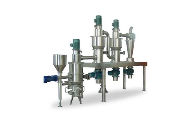 Pharmaceutical Spiral Jet Mill Pulverizer