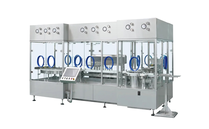 Automatic Injectable Vial Powder Filling Line