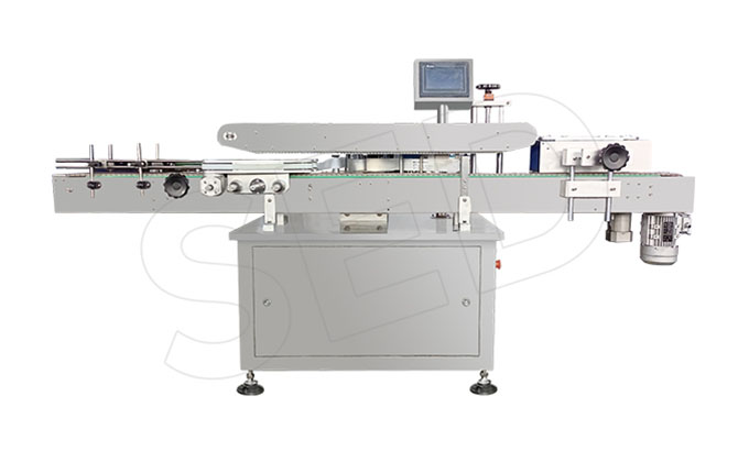 Automatic Double Side Bottle Sticker Labeling Machine for Sale SED-TB