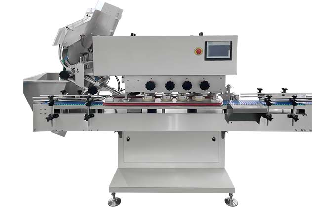 SED-CG Automatic Linear Glass Capping Machine